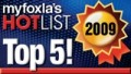 myfoxla's Hot List Top Five 2009